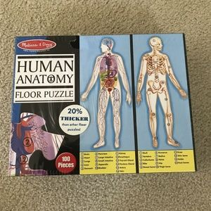 Melissa & Doug Human Anatomy Floor Puzzle - NEW se